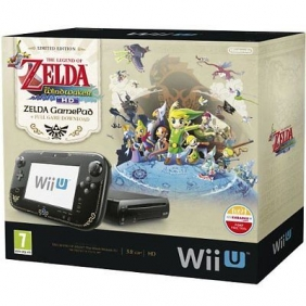 Wholesale Nintendo Wii U 32GB The Legend of Zelda: Wind Waker HD Premium Pack - Black NEW