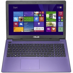 Wholesale Asus X553M Laptop Purple - Grade B+ (Speaker Fault) Intel Celeron Dual Core CPU