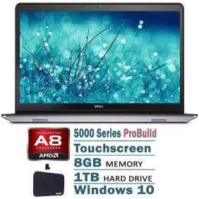 Wholesale Dell 5000 Series Touchscreen Pro Laptop Flagship Silver Edition AMD Quad-Core
