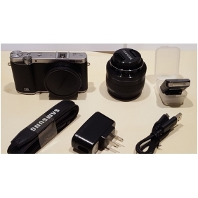 Wholesale Samsung NX NX3000 20.3 MP Digital Camera - Black with 20-50mm Lens - 7539