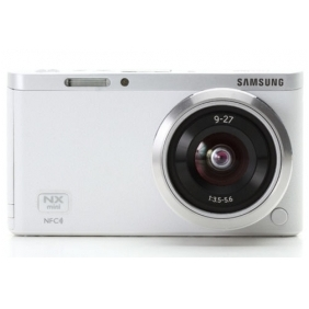 Wholesale Samsung NX Mini Smart Camera with 9-27mm Lens (White) + SD Card -Fedex USA