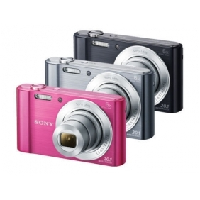 Wholesale Sony CyberShot DSC-W810 20.1MP Digital Camera 3colors 6x Optical Zoom HD EMS F/S