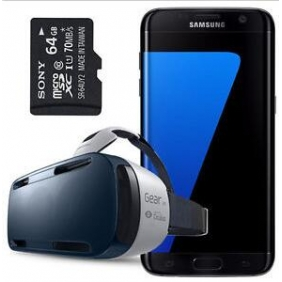 Wholesale Samsung Galaxy S7 Edge SM-G935F + Gear VR + 64GB SD Card (FACTORY UNLOCKED)