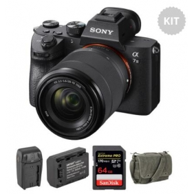 Wholesale Sony Alpha a7 III Mirrorless Digital Camera with 28-70mm Lens and Accessories Kit